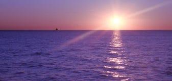 Chicago-Sonnenaufgang Lizenzfreie Stockbilder