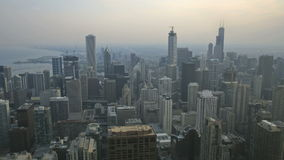 Chicago-Sonnenuntergang stock video footage