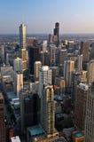 chicago stad arkivfoton
