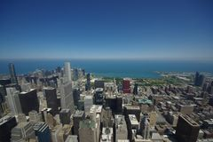 chicago stad royaltyfria bilder
