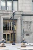 chicago stadshus Fotografering för Bildbyråer