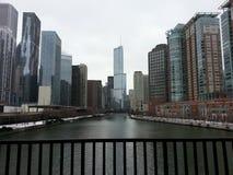 Chicago-Stadt Stockfoto