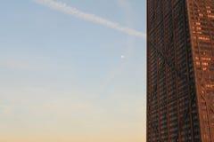 Chicago-Stadt-Hancock-Turm Lizenzfreies Stockfoto