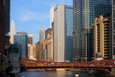Chicago-Stadtansicht stockbild