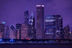 Chicago-Stadtbild Stockbild
