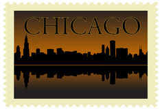 Chicago stamp Stock Images