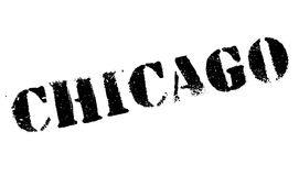 Chicago stamp rubber grunge Stock Image