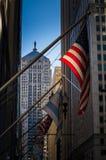 Chicago stiger ombord av handel Arkivbilder