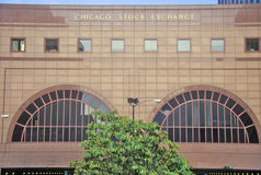 The Chicago Stock Exchange, Chicago, Illinois Stock Photos