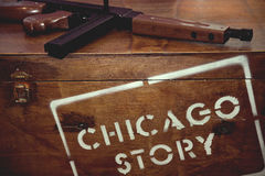 Chicago story Royalty Free Stock Photography