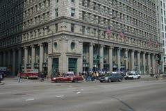 Chicago Street Corner Stock Image