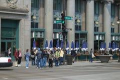 Chicago Street Corner Royalty Free Stock Photo