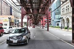 Chicago street Royalty Free Stock Photo