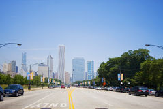 Chicago Street Royalty Free Stock Images