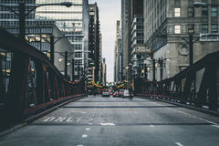Chicago streets Stock Image