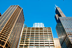 Chicago style Skyscrapers Royalty Free Stock Image