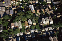 Chicago suburbs Royalty Free Stock Photo