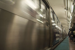 Chicago subway Royalty Free Stock Image