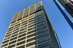 Chicago Sun Times Building Royalty Free Stock Photos