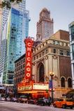 Chicago teater arkivfoton