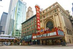 Chicago teater royaltyfri foto