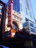 Chicago teater arkivfoto
