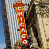 Chicago - Teatru Okręg - USA Zdjęcia Royalty Free