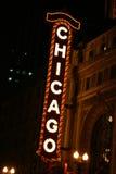 chicago tecken Royaltyfri Bild