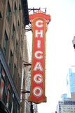 Chicago Theater Royalty Free Stock Photography