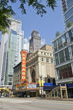 Chicago Theater Royalty Free Stock Photo