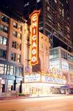 Chicago-Theater lizenzfreie stockfotografie