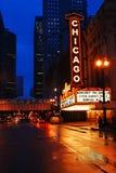Chicago-Theater stockfotos