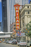 Chicago Theater, Chicago, Illinois Stock Photography