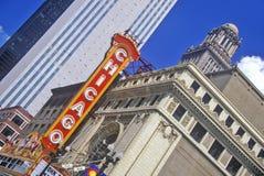 Chicago Theater, Chicago, Illinois Royalty Free Stock Photo