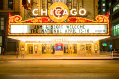 Chicago Theather Stock Images