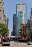 chicago theatre Royaltyfri Foto