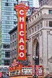 Chicago Theatre Stock Photography