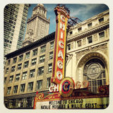 Chicago Theatre Stock Image