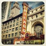Chicago Theatre Stock Image