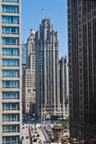 chicago torntribune Royaltyfria Foton