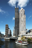 chicago tornwillis Arkivfoto
