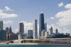 Chicago, torre de Hancock Imagenes de archivo