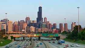 Chicago traffic. Stock Photography