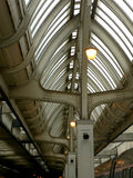 Chicago Train Station. Interesting architecture of the terminal of the Chicago Grand Central Train Station Stock Photos