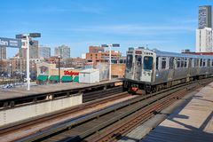 Chicago Transit Authority Royalty Free Stock Photos