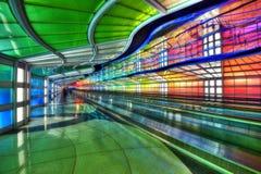 Chicago-Transport-Tunnel lizenzfreie stockfotos