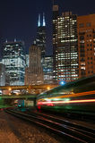 Chicago transportation. Stock Images