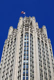 Chicago Tribune building Stock Photo