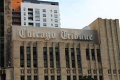 Chicago Tribune Building Stock Photos