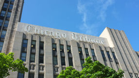 Chicago Tribune Stock Image